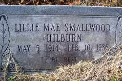 SMALLWOOD HILBURN, LILLIE MAE - Crawford County, Arkansas | LILLIE MAE SMALLWOOD HILBURN - Arkansas Gravestone Photos
