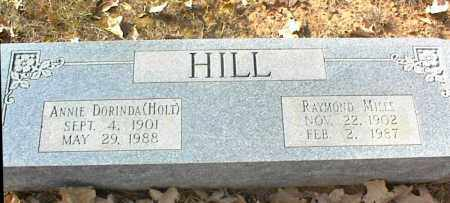 HILL, RAYMOND MILES - Crawford County, Arkansas | RAYMOND MILES HILL - Arkansas Gravestone Photos