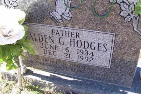 HODGES, ALDEN G. - Crawford County, Arkansas | ALDEN G. HODGES - Arkansas Gravestone Photos