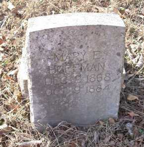 HOFFMAN, MARY E - Crawford County, Arkansas | MARY E HOFFMAN - Arkansas Gravestone Photos
