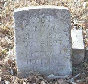 HOFFMAN, SUSON I - Crawford County, Arkansas | SUSON I HOFFMAN - Arkansas Gravestone Photos
