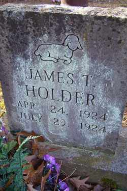 HOLDER, JAMES T - Crawford County, Arkansas | JAMES T HOLDER - Arkansas Gravestone Photos