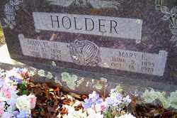 HOLDER, MARY ELIZABETH - Crawford County, Arkansas | MARY ELIZABETH HOLDER - Arkansas Gravestone Photos