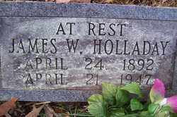 HOLLADAY, JAMES W - Crawford County, Arkansas | JAMES W HOLLADAY - Arkansas Gravestone Photos