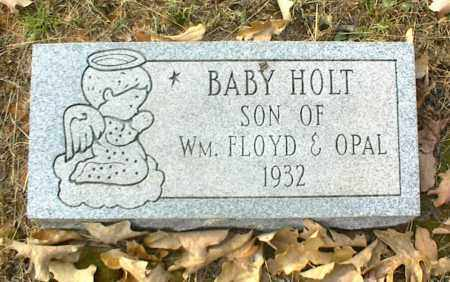 HOLT, INFANT SON - Crawford County, Arkansas | INFANT SON HOLT - Arkansas Gravestone Photos