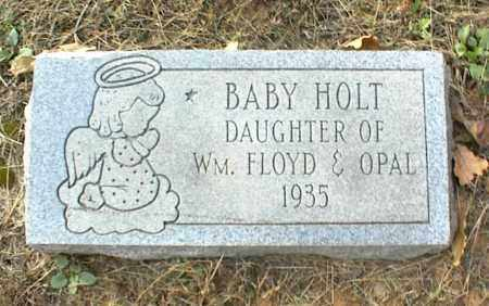 HOLT, INFANT DAUGHTER - Crawford County, Arkansas | INFANT DAUGHTER HOLT - Arkansas Gravestone Photos