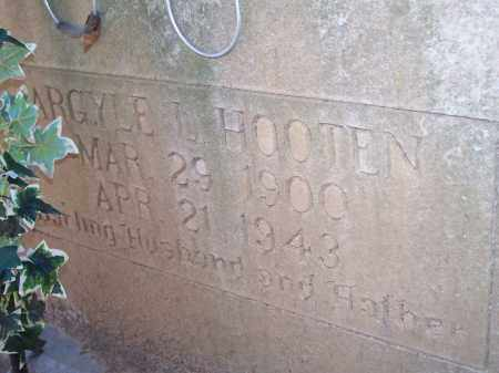 HOOTEN, ARGYLE L. - Crawford County, Arkansas | ARGYLE L. HOOTEN - Arkansas Gravestone Photos