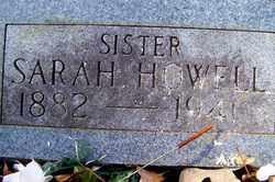 HOWELL, SARAH - Crawford County, Arkansas | SARAH HOWELL - Arkansas Gravestone Photos