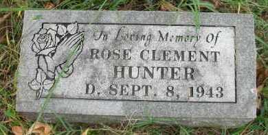 CLEMENT HUNTER, ROSE - Crawford County, Arkansas | ROSE CLEMENT HUNTER - Arkansas Gravestone Photos