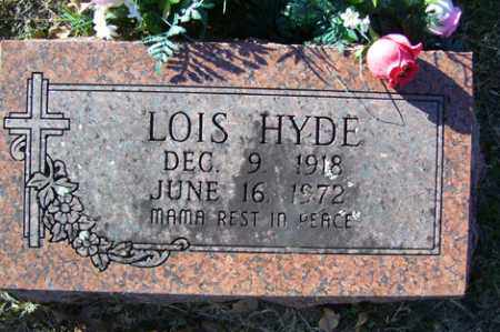 HYDE, LOIS - Crawford County, Arkansas | LOIS HYDE - Arkansas Gravestone Photos