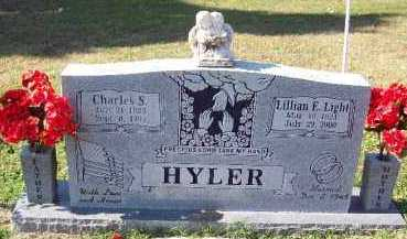 HYLER, LILLIAN E. - Crawford County, Arkansas | LILLIAN E. HYLER - Arkansas Gravestone Photos