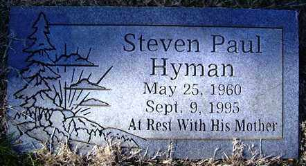 HYMAN, STEVEN PAUL - Crawford County, Arkansas | STEVEN PAUL HYMAN - Arkansas Gravestone Photos
