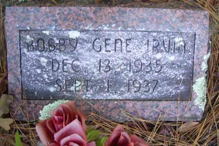 IRVIN, BOBBY GENE - Crawford County, Arkansas | BOBBY GENE IRVIN - Arkansas Gravestone Photos