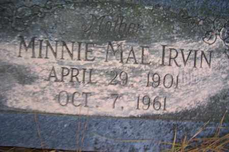 IRVIN, MINNIE MAE - Crawford County, Arkansas | MINNIE MAE IRVIN - Arkansas Gravestone Photos