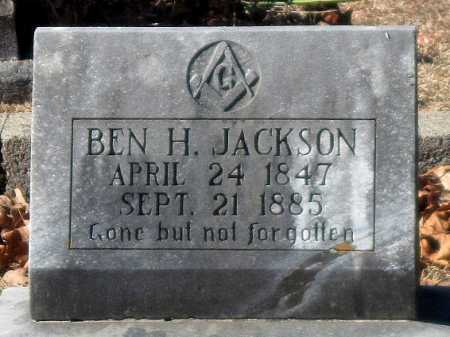 JACKSON, BENJAMIN H - Crawford County, Arkansas | BENJAMIN H JACKSON - Arkansas Gravestone Photos