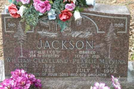 JACKSON, PEARLIE MELVINA - Crawford County, Arkansas | PEARLIE MELVINA JACKSON - Arkansas Gravestone Photos