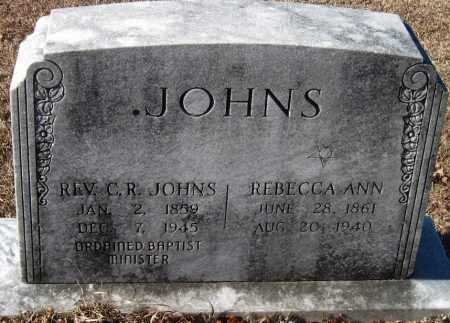 JOHNS, C R REV - Crawford County, Arkansas | C R REV JOHNS - Arkansas Gravestone Photos