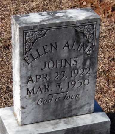 JOHNS, ELLEN ALINE - Crawford County, Arkansas | ELLEN ALINE JOHNS - Arkansas Gravestone Photos