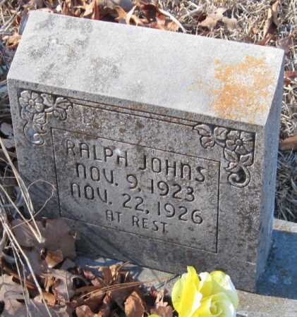 JOHNS, RALPH - Crawford County, Arkansas | RALPH JOHNS - Arkansas Gravestone Photos