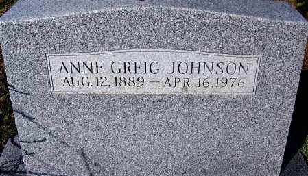 JOHNSON, ANNE - Crawford County, Arkansas | ANNE JOHNSON - Arkansas Gravestone Photos