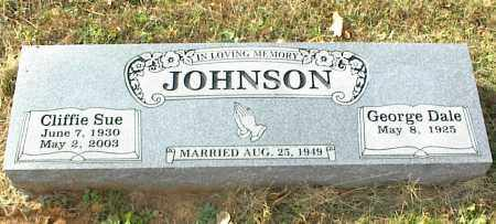 JOHNSON, CLIFFIE SUE - Crawford County, Arkansas | CLIFFIE SUE JOHNSON - Arkansas Gravestone Photos