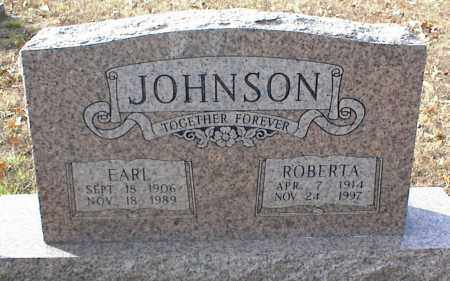 JOHNSON, ROBERTA - Crawford County, Arkansas | ROBERTA JOHNSON - Arkansas Gravestone Photos