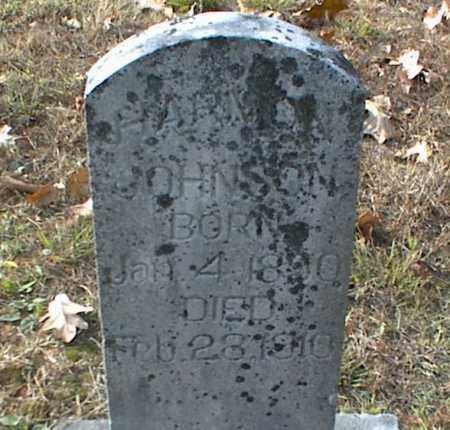 JOHNSON, HARMON - Crawford County, Arkansas | HARMON JOHNSON - Arkansas Gravestone Photos