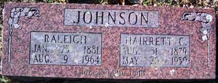 JOHNSON, HAIRRETT G - Crawford County, Arkansas | HAIRRETT G JOHNSON - Arkansas Gravestone Photos
