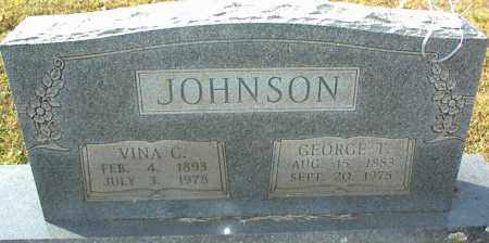 JOHNSON, VINA C. - Crawford County, Arkansas | VINA C. JOHNSON - Arkansas Gravestone Photos