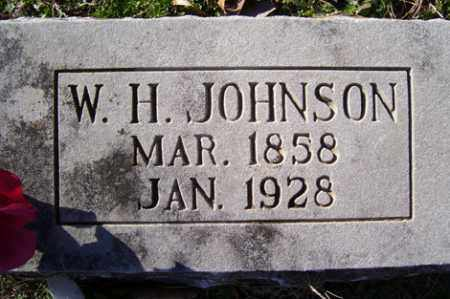 JOHNSON, W HENRY - Crawford County, Arkansas | W HENRY JOHNSON - Arkansas Gravestone Photos