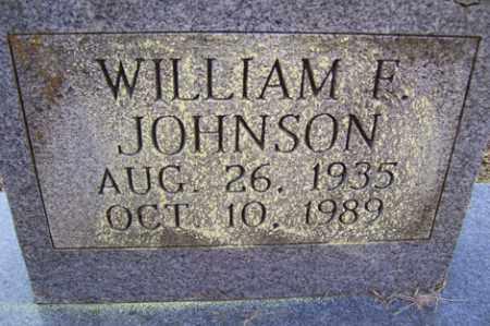 JOHNSON, WILLIAM F - Crawford County, Arkansas | WILLIAM F JOHNSON - Arkansas Gravestone Photos