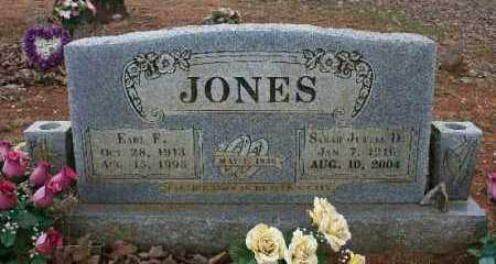 JONES, EARL - Crawford County, Arkansas | EARL JONES - Arkansas Gravestone Photos