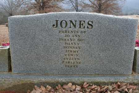 JONES, SARAH [BACK OF HEADSTONE] - Crawford County, Arkansas | SARAH [BACK OF HEADSTONE] JONES - Arkansas Gravestone Photos