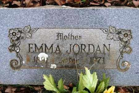 JORDAN, EMMA - Crawford County, Arkansas | EMMA JORDAN - Arkansas Gravestone Photos