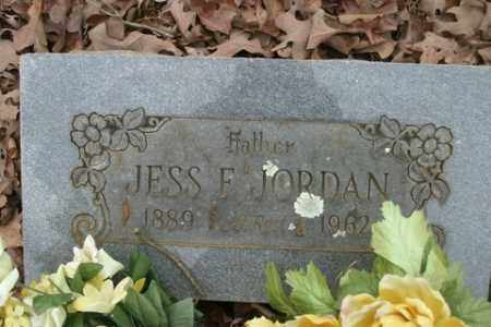 JORDAN, JESS F. - Crawford County, Arkansas | JESS F. JORDAN - Arkansas Gravestone Photos