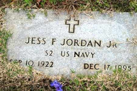 JORDAN, JR (VETERAN), JESS F - Crawford County, Arkansas | JESS F JORDAN, JR (VETERAN) - Arkansas Gravestone Photos