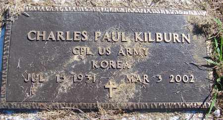 KILBURN (VETERAN KOR), CHARLES PAUL - Crawford County, Arkansas | CHARLES PAUL KILBURN (VETERAN KOR) - Arkansas Gravestone Photos