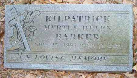 KILPATRICK, MYRTLE HELEN - Crawford County, Arkansas | MYRTLE HELEN KILPATRICK - Arkansas Gravestone Photos