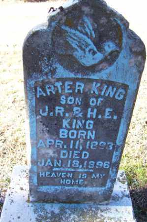 KING, ARTER - Crawford County, Arkansas | ARTER KING - Arkansas Gravestone Photos