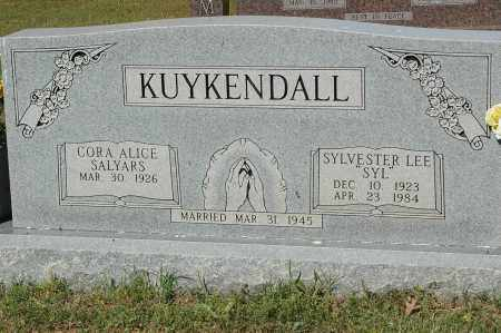 "KUYKENDALL, SYLVESTER LEE ""SYL"" - Crawford County, Arkansas 