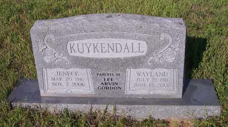 KUYKENDALL, WAYLAND - Crawford County, Arkansas | WAYLAND KUYKENDALL - Arkansas Gravestone Photos