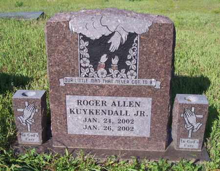 KUYKENDALL, ROGER ALLEN JR - Crawford County, Arkansas | ROGER ALLEN JR KUYKENDALL - Arkansas Gravestone Photos