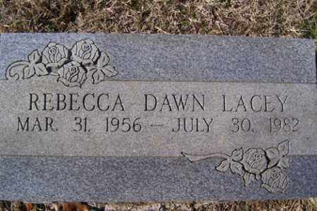 LACEY, REBECCA DAWN - Crawford County, Arkansas | REBECCA DAWN LACEY - Arkansas Gravestone Photos