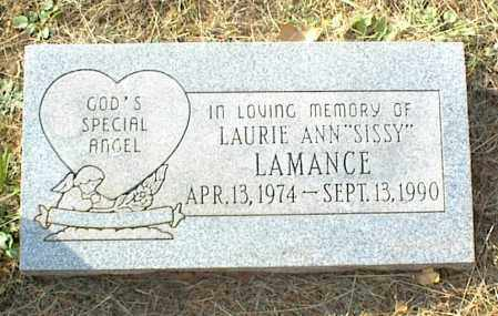 "LAMANCE, LAURIE ANN ""SISSY"" - Crawford County, Arkansas 