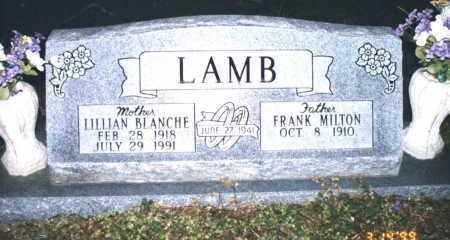 LAMB, LILLIAN BLANCHE - Crawford County, Arkansas | LILLIAN BLANCHE LAMB - Arkansas Gravestone Photos