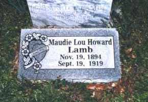 LAMB, MAUDIE LOU - Crawford County, Arkansas | MAUDIE LOU LAMB - Arkansas Gravestone Photos
