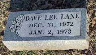LANE, DAVE LEE - Crawford County, Arkansas | DAVE LEE LANE - Arkansas Gravestone Photos