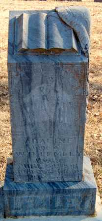 LEMLEY, ADALINE - Crawford County, Arkansas | ADALINE LEMLEY - Arkansas Gravestone Photos