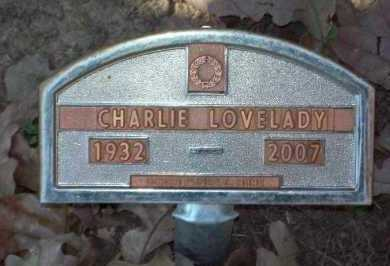 LOVELADY, CHARLIE - Crawford County, Arkansas | CHARLIE LOVELADY - Arkansas Gravestone Photos