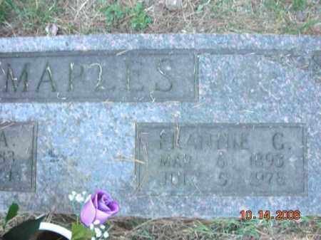 MAPLES, FRANNIE C. - Crawford County, Arkansas | FRANNIE C. MAPLES - Arkansas Gravestone Photos